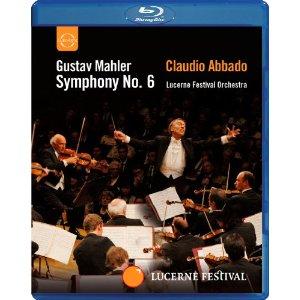Concerti in DVD e Bluray Mahler--Symphony-No--6---Lucerne-Festival-Orchestra---Claudio-Abbado--Blu-ray---2010