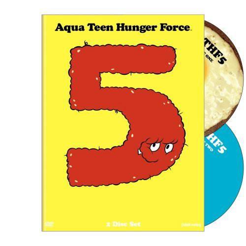 aqua teen hunger force vol 5 2000 on dvd bluray copy