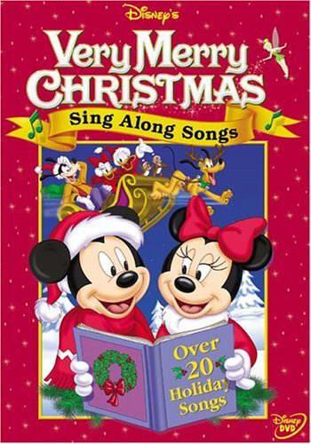 Free disneys sing along songs very merry christmas songs 1998