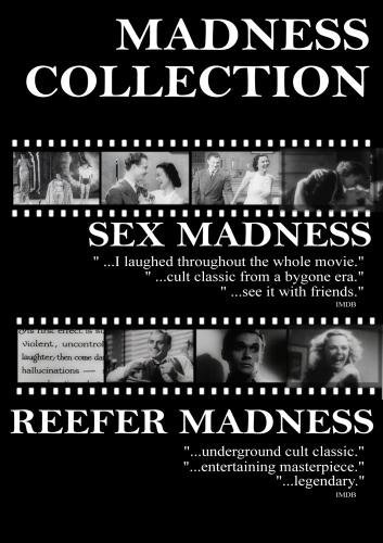 Madness Collection  Sex Madness 1938 and Reefer Madness 1936 cartoon porno   she gets fucked in the ass till she squirts