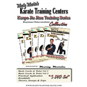 ... Kenpo Jiu Jitsu Training Series Beginner/Intermediate DVD Collection
