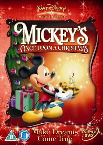 mickeys once upon a christmas region 2 1999 on dvd blu