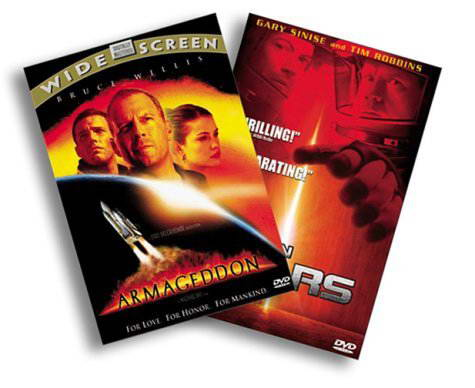 Mission to Mars/Armageddon (1998) on DVD Blu-ray copy Reviews