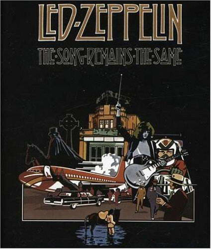 Led Zeppelin The Song Remains The Same Hd Dvd 1976