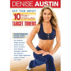 free Denise Austin: Hit the Spot - 10 Five Minute Target Toners (2007