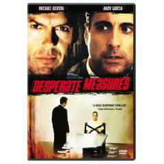 Desperate Measures (1998) on DVD Blu-ray copy Reviews
