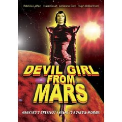Devil Girl From Mars DVD - Pics about space