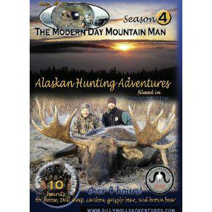 Season 2 The Modern Day Mountain Man : Brown Bear, grizzly bear, Dall sheep, caribou, and moose hunting in Alaska and Whitetail hunting from Canada and Wisconsin, 11 hunts over 4 hours! movie